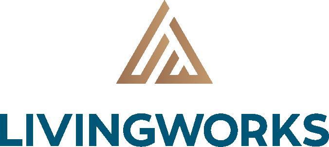 LivingWorks Logo Dark Blue
